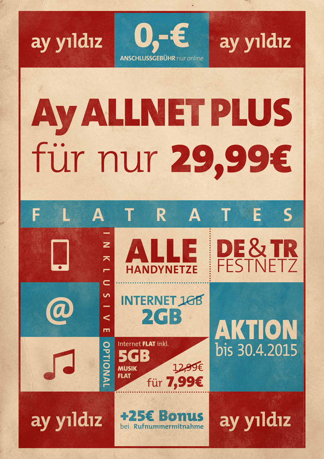 Ay Allnet Plus Tarif von Ay Yildiz
